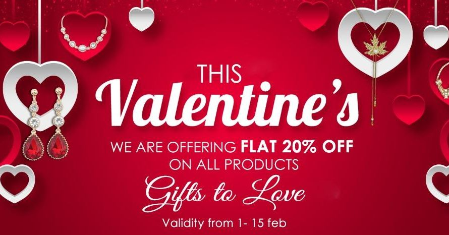 Insia brings exclusive Valentine's jewellery collection with 20% discount