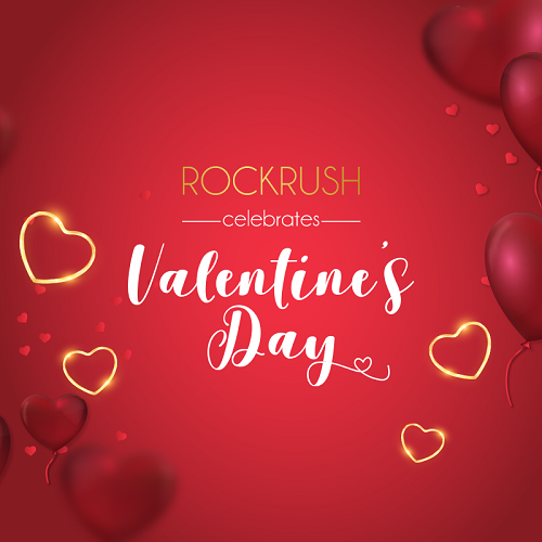 RockRush launches an exclusive jewellery collection for Valentine's Day